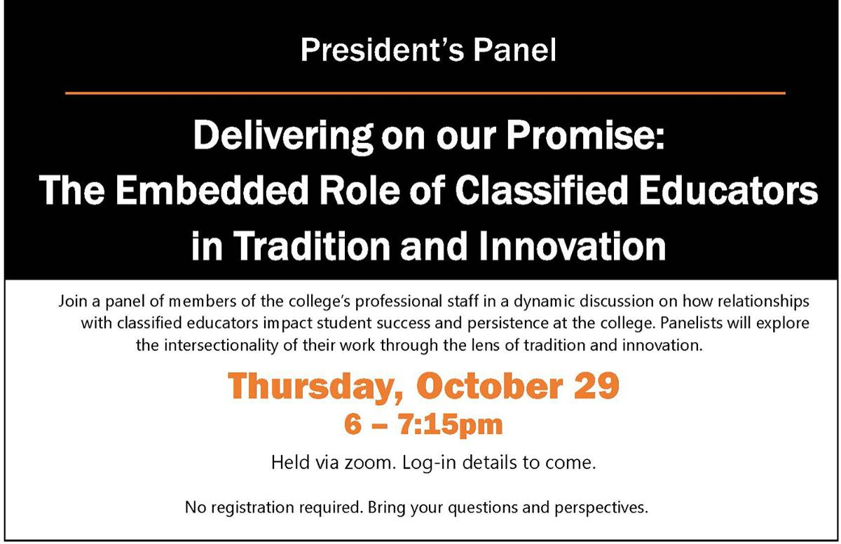 President's Panel discussion