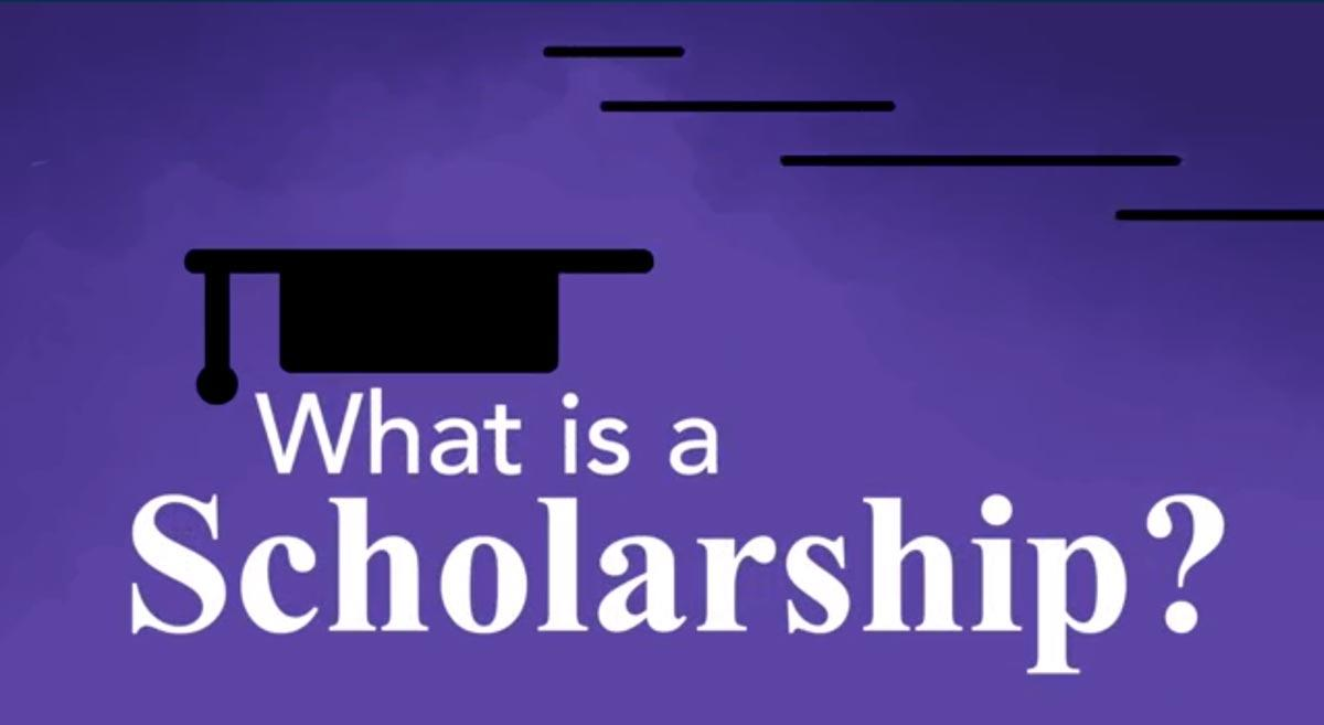 What is a scholarship? Video